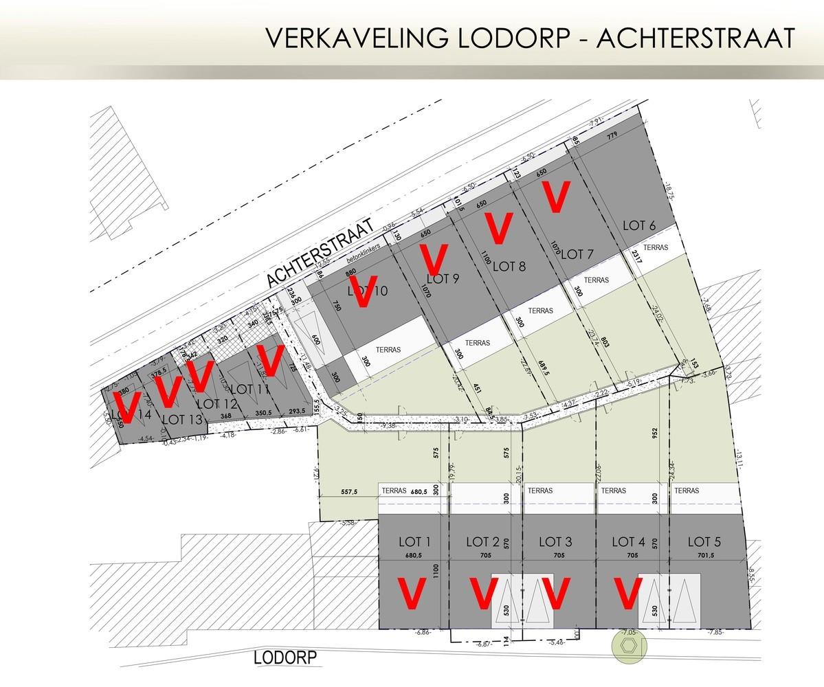 Verkaveling Lodorp-Achterstraat