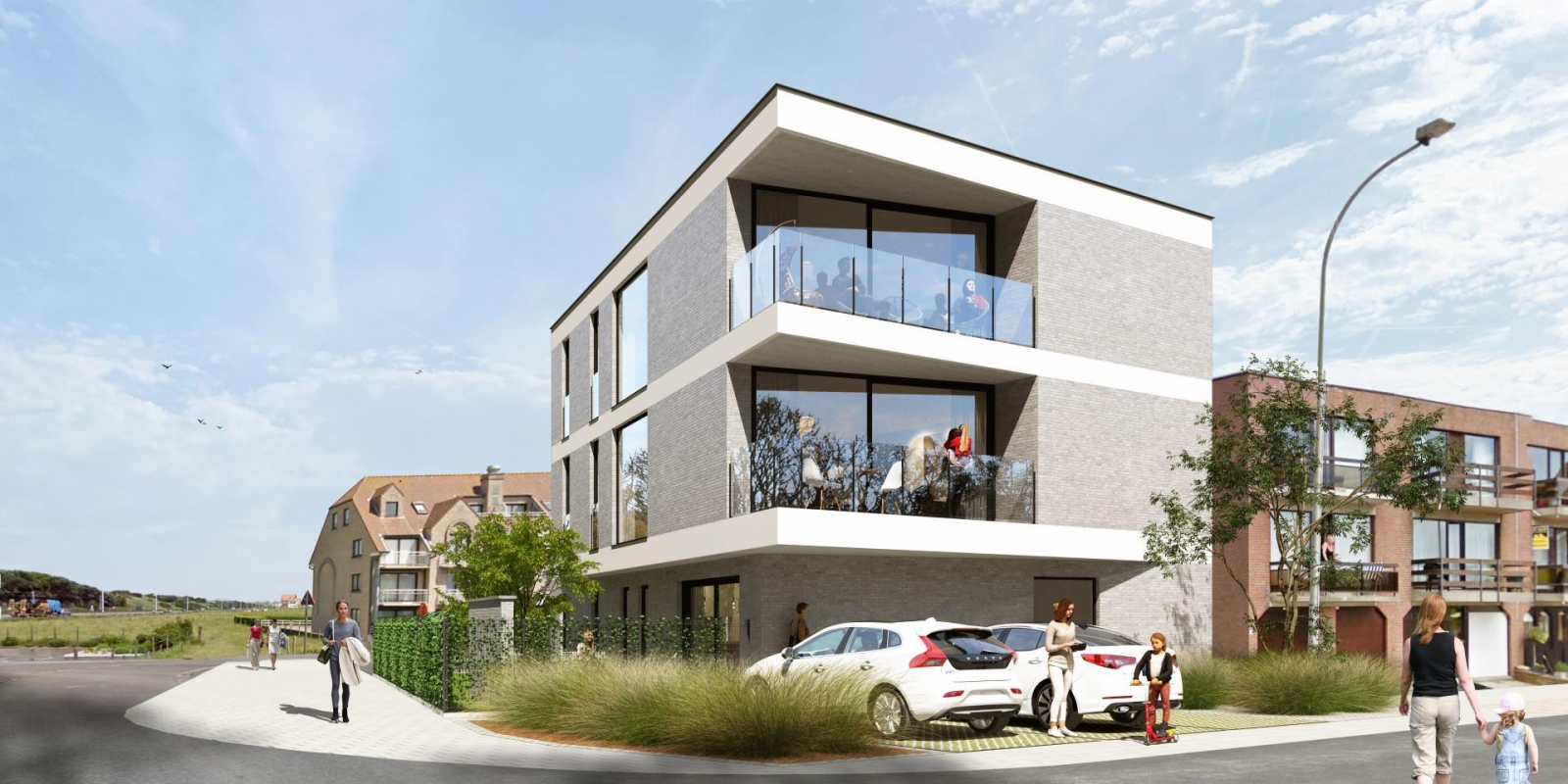Ruim appartement met 2 slaapkamers op de eerste verdieping