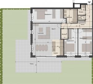 Ruim gelijkvloersappartement