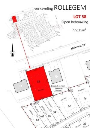 Bouwgrond - Molenkouter 24 - 8500 Kortrijk