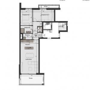 Appartement - Bonestraat 15 - 8760 Meulebeke