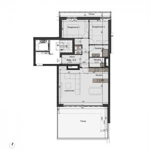 Centraal gelegen penthouse