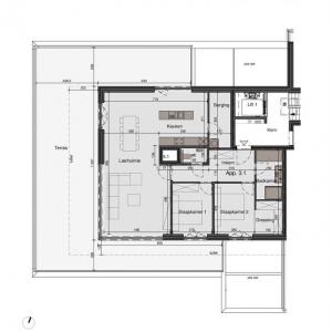 Penthouse in deze residentie