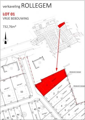 Lot 1 - Bouwgrond zonder bouwverplichting