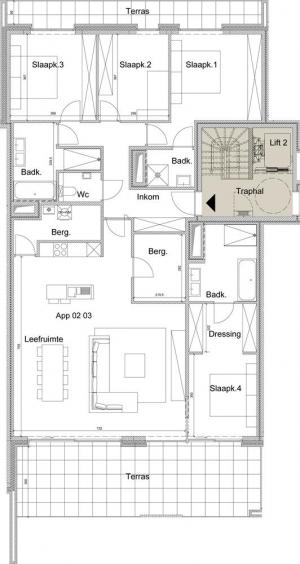 Appartement - Beeklaan 34-36 - 8520 Kuurne