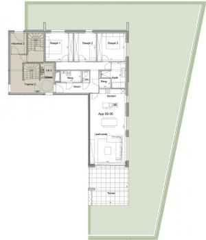Gelijkvloers appartement 0.06