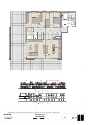 Penthouse te Sint-Eloois-Winkel