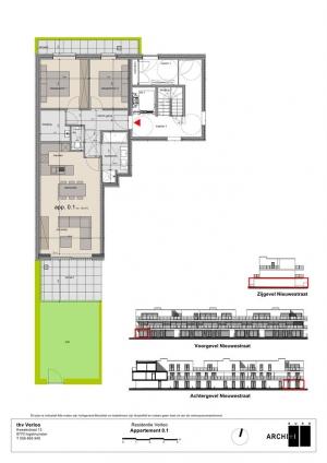 Gelijkvloers appartement te Sint-Eloois-Winkel