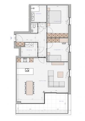 Zedelgem - Residentie De Secretaris - B1.2