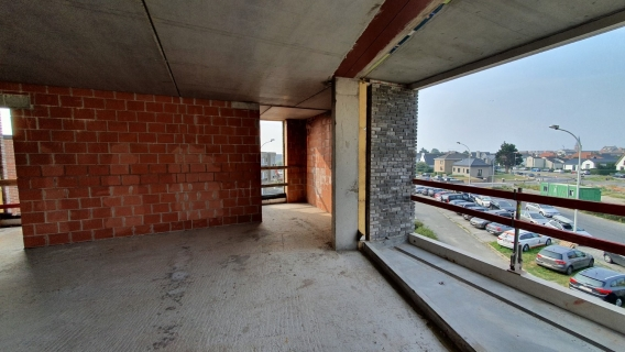 Ruim appartement op de bovenste verdieping met 2 slaapkamers
