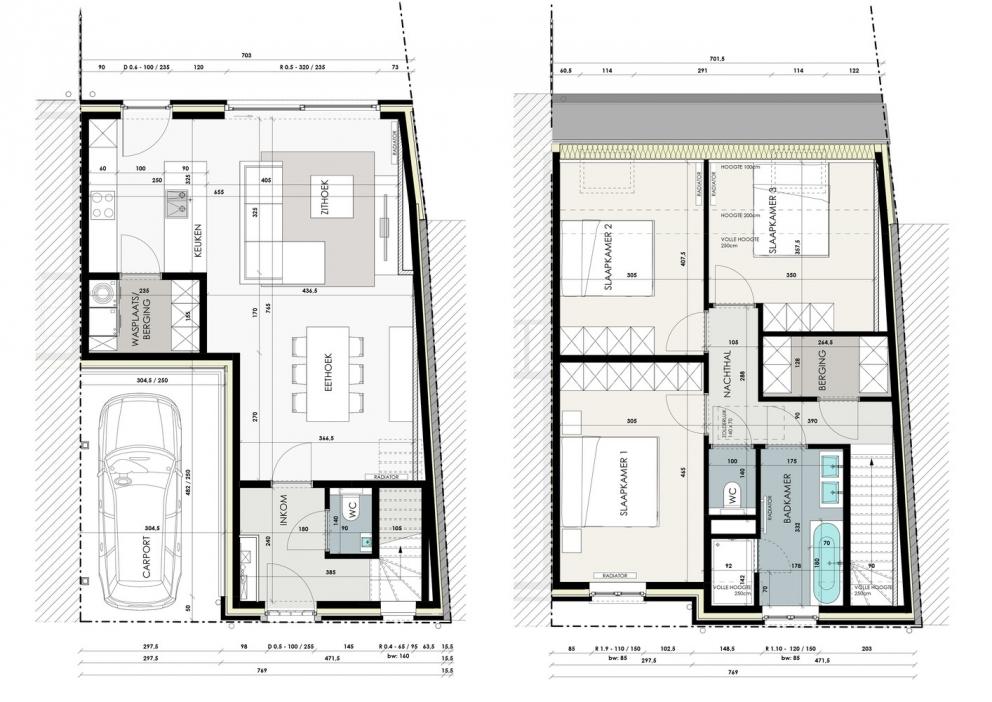 Landelijke woning met 3 slaapkamers