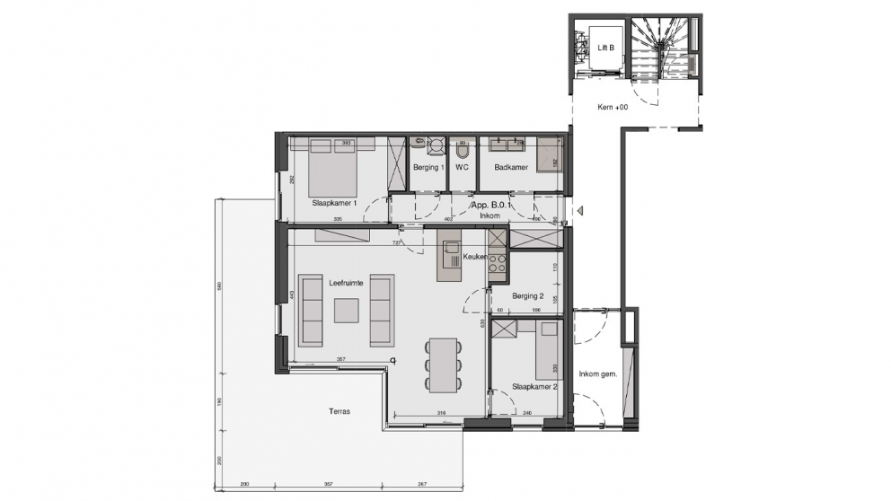 Residentie De Wandeling - B0.1