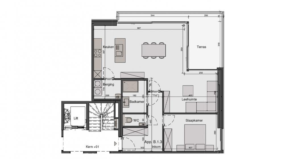 Residentie De Wandeling - B1.3