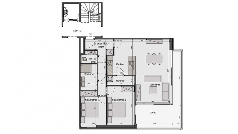 Residentie De Wandeling - B1.4