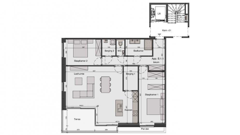 Residentie De Wandeling - B1.1